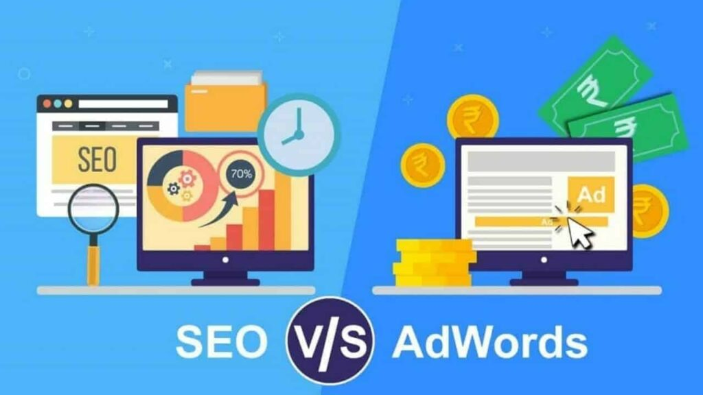 What is the Difference Between SEO and Google AdWords?