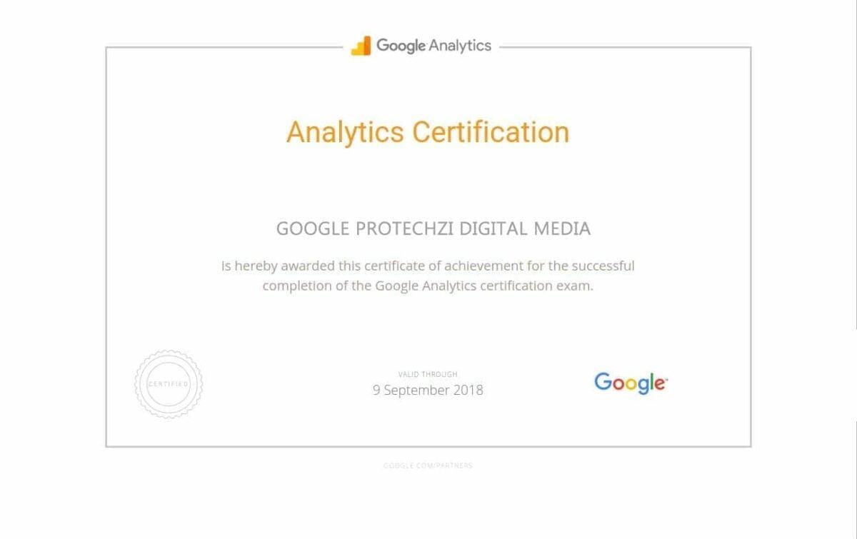 AnalyticsCertification-PROTECHZI